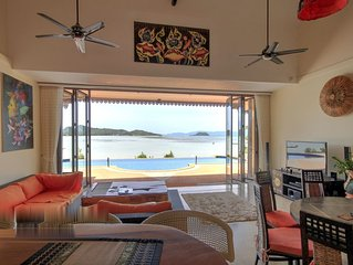 5 Bedroom Sea Front Villa - Koh Phangan