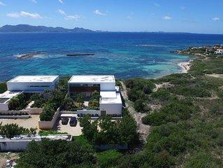 FAMILIES, WEDDINGS Love This 2-Villa Oceanfront Estate! AC, Beach, Pools, Jacuzz