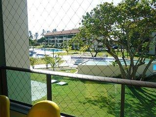 Apartamento decorado (1 quarto) - Praia dos Carneiros (acomoda ate 6 pessoas)
