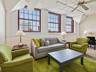 2 Bedroom Apartment in Downtown Cleveland's Warehouse District