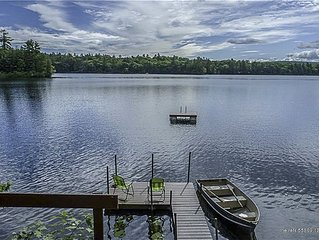 Lakefront Home on Beautiful Crescent Lake