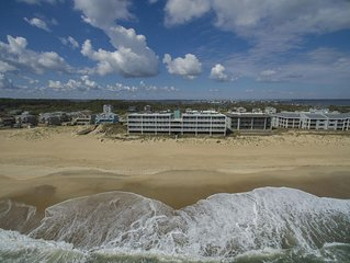 Enjoy Spectacular Sunrises, Oceanfront Relaxation and OBX Fun in style at The Pa
