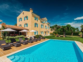 Authentic Istrian stanzia, more than 200 years old, provides privacy with luxury