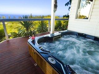Presidential, Hillside Ocean View Spa Villa - Exclusive Indulgence.