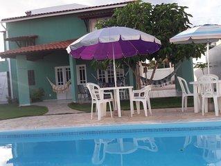 �Casa Com Piscina, 3 suites e a 100 Metros Do Mar!☀️�