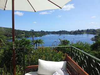 Large holiday villa with amazing lake views nested in wild bird paradise.