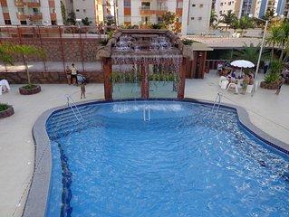 venham para o novo parque aguatico do Millennium Thermas Residence - 1 suite