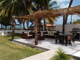 Casa de praia para temporada toda mobiliada