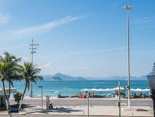 Apt em Cobacabana frente mar 3 Bedroom com 3 banheiros