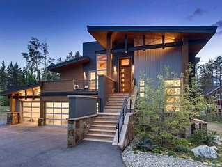 Sunset Over Main a Modern Breckenridge Chalet Perfect for Families