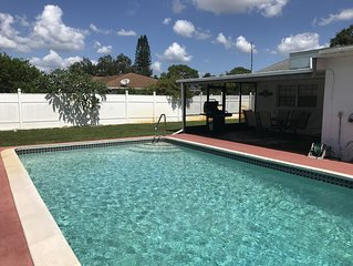Large Sparkling Clean Pool House. Near Island Beaches. Awesome Feedback!