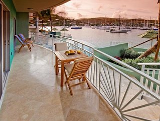Luxury Water Front Condo with Semi-Private Pool