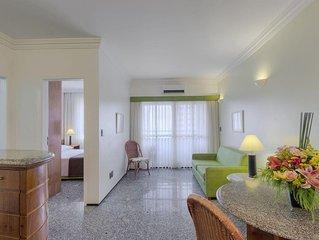 FLAT TEMPORADA NO APART HOTEL GOLDEN TULIP INN SAINT MARTIN: MEIRELE-FORTALEZA