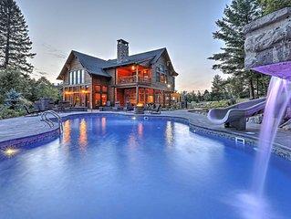 Luxury Lake Placid Home w/ Pool & Mountain Views!