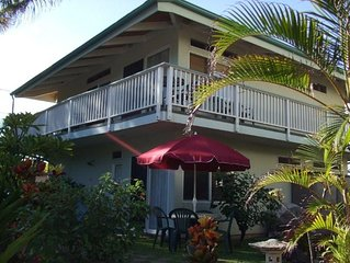 TVNC # 1287:  Turtle House by the Sea- A Comfy 2 story Home in Kapaa