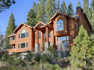 NEW! Incline Village Luxury Home with Beach Access, Fire Pit: Serenity Lodge