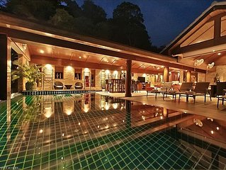 Serviced Luxury 9-17 Bedroom Pool Villa with Private Chef , Kamala Beach Phuket,