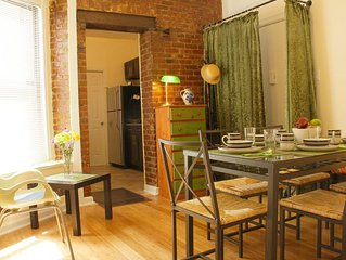 Comfortable cozy 3- bedroom Apartment in Manhattan up to 6 guests