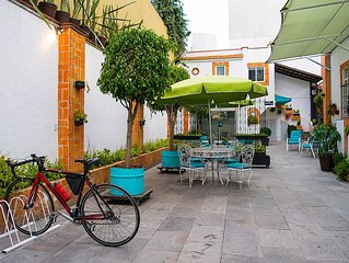 Villa Mural; 6 Suites; ideal biz-executives; near Condesa & WTC; per month