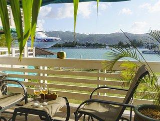 Ocean Yacht Club View Spacious 2 Bedroom 2 Washroom Apartment