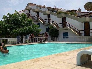 Apt. no Portinho Cabo Frio, Duplex, 2 qtos,  com piscina