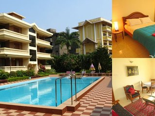 18) Home From Home Serviced Apartment Regal Palms - Candolim