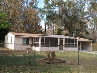 Southside Jax home. Fully remodeled. Backyard has wood fence for your dog.