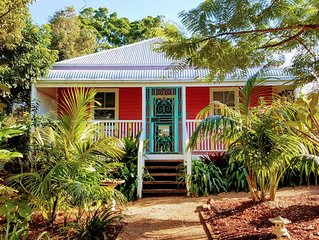 Tinkerbell Cottage, in the heart of Bangalow in beautiful Byron Bay Hinterland