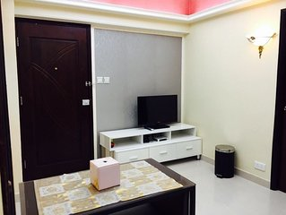 Modern Deluxe 2bedroom apartment for6ppl