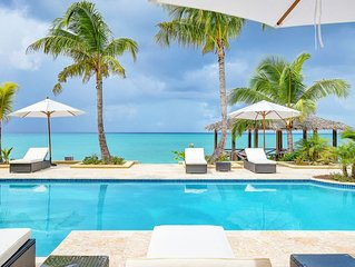 Luxury 5 Bedroom Beach Front Villa in Old Fort Point Nassau Bahamas - Free Conci