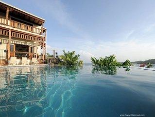 Tivigny Villa - Grenada.   A luxury Villa  by the seaside on the Isle of Spice.