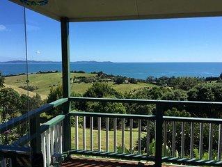 Huge 180 degree views of Doubtless Bay