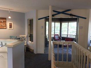 2 queen/1 bunk sleeps 6 in Glen Arbor/Glen Lake. The Homestead Resort, 4 season
