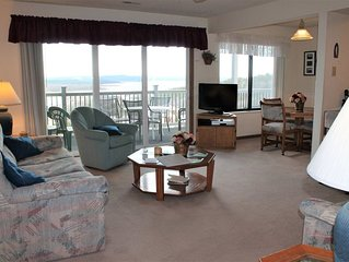 Classic! 2 bed 2 bath Condo- Boat Slip Included! Large Deck. Fantastic Lake View