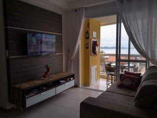 Apartamento com linda vista para o mar, Nautilus Home Club