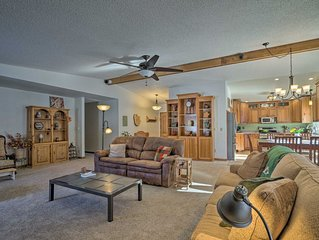NEW! Woodland Park Home w/Private Hot Tub & Views!