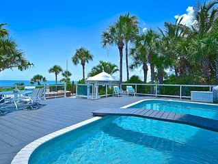 Beach Front Luxurious Property on Casey Key , NEW VIDEO!!