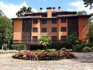 Excelente apartamento no Resort KnorrVille Gramado