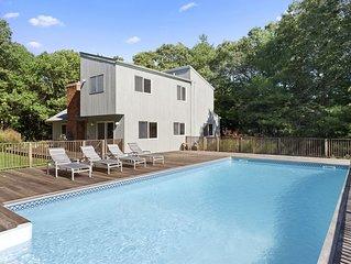 Hamptons Retreat w/ Pool & Tennis - 90min from NYC