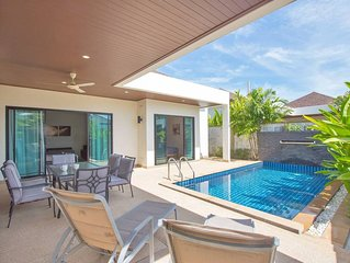 Trendy 3br Boutique Pool Villa by Intira