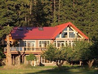 Upscale Luxury Home on Cherry Orchard Overlooking Flathead Lake