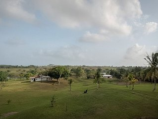 Arenosa Panama Gated Lakefront Farm with 2500 Sqft Home