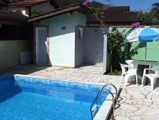 Casa c/ Piscina na Praia da Mococa no Residencial Mar Verde seg 24 h c/ wifi