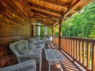 Scenic Trade Cabin w/Deck near Boone & App State!