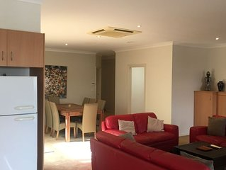 Our extra large apartment in the centre of  the historic seaport of Williamstown