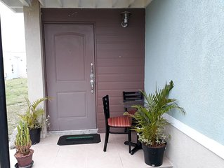 Luxury fully equipped Vacation Home with     AC and 24 hours security
