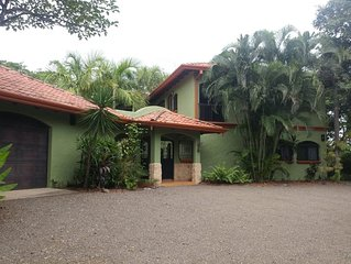 Private Villa with Guest House & Pool in Junquillal Gated Community