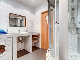 Spacious two bedroom apartment in the heart of St. Petersburg.