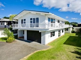 Family friendly home metres from the beach