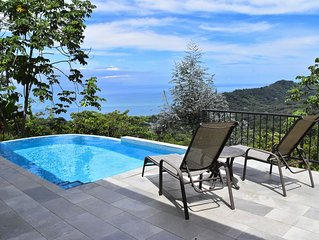 Diamante-Unforgettable Ocean View, Private Infinity Pool, Comfort and Relaxation
